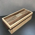 Closed Wooden Combination Puzzle Box
