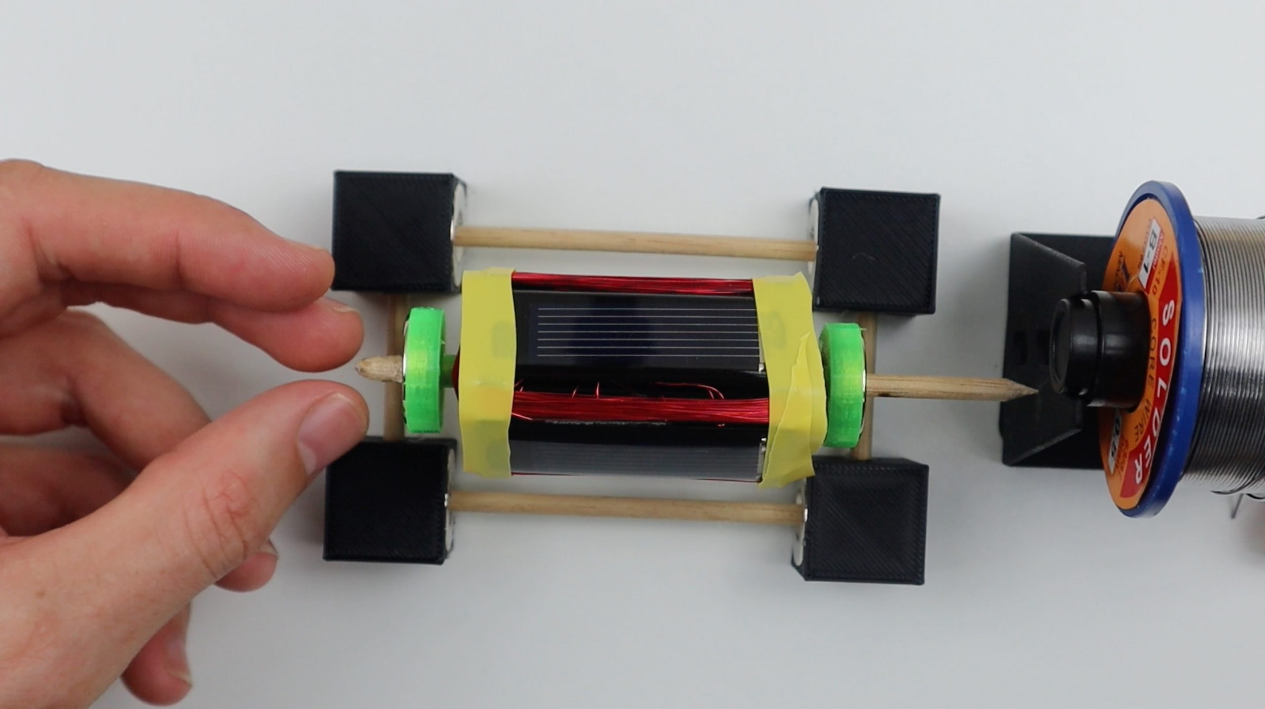 testing the motor direction