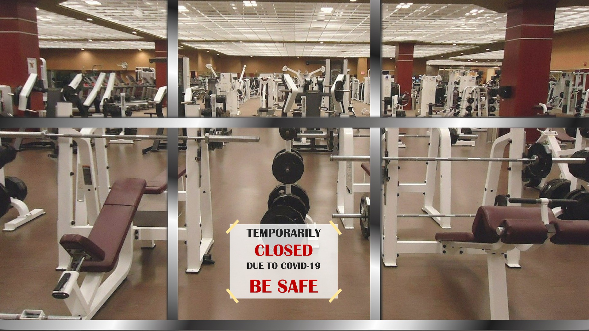 Gym Closed Due To Covid-19