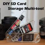 Make Your Own Acrylic SD Card Storage Multi-tool