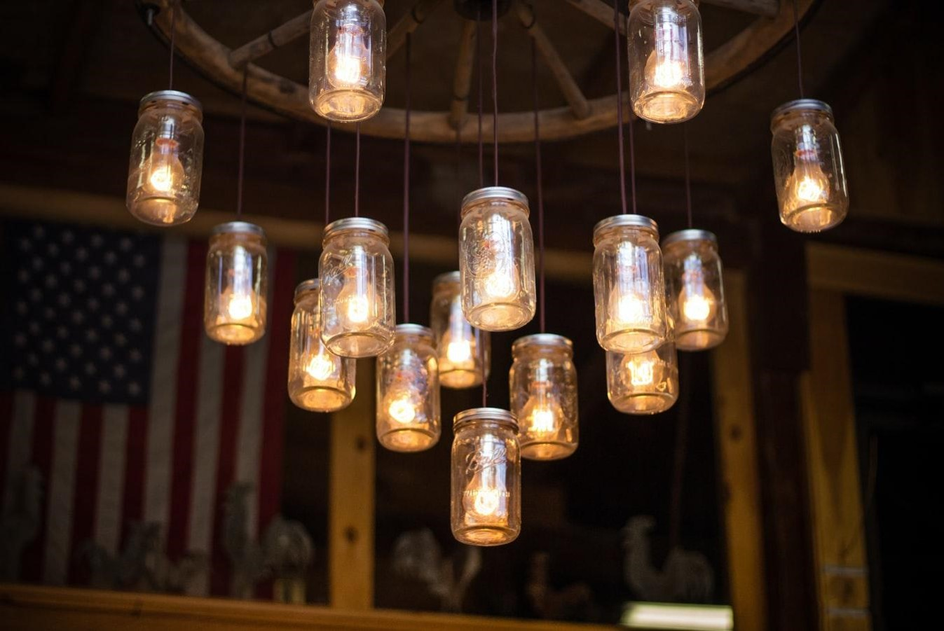 DIY Tutorial - How to Make Your Own Inexpensive Chandelier