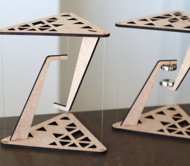 Make Your Own Desktop Tensegrity Tables