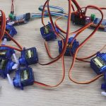 Two 16 Channel PWM Servo Drivers In Operation