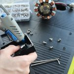 Gluing Arduino Uno Into Place