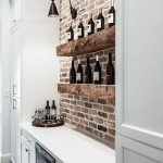 Home Wines Shelves Exposed Brick
