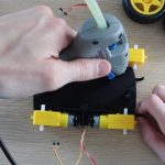 Glue The Four Motors Into Place
