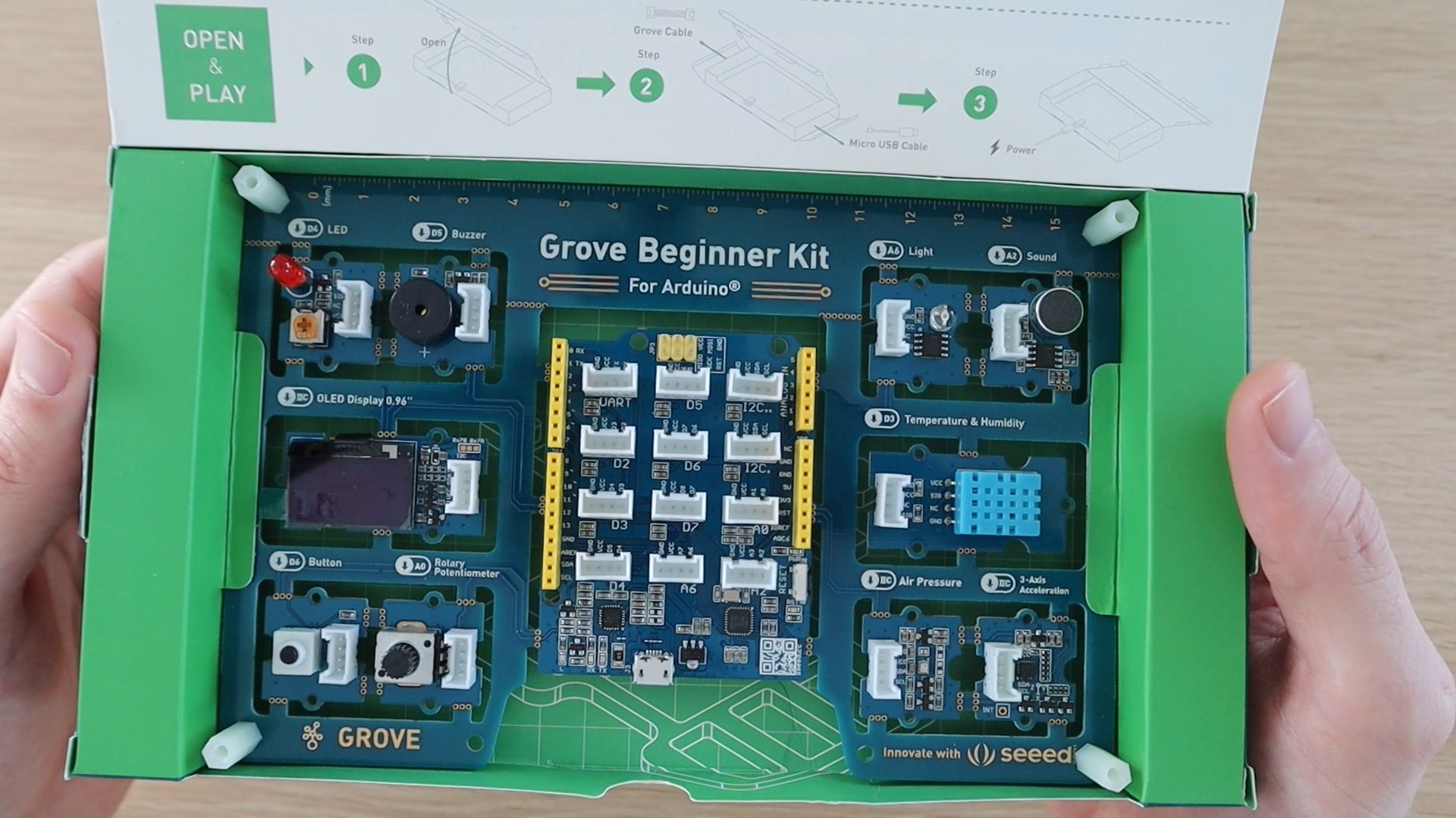 Grove Beginner Kit Inside