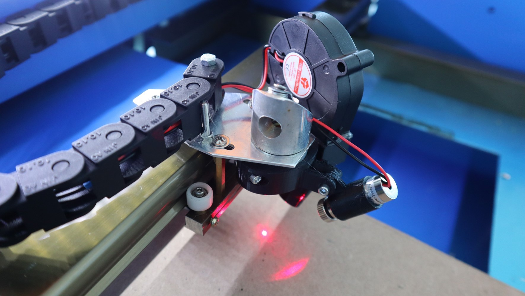 How To Add A Red Dot Pointer To A K40 Laser Cutter