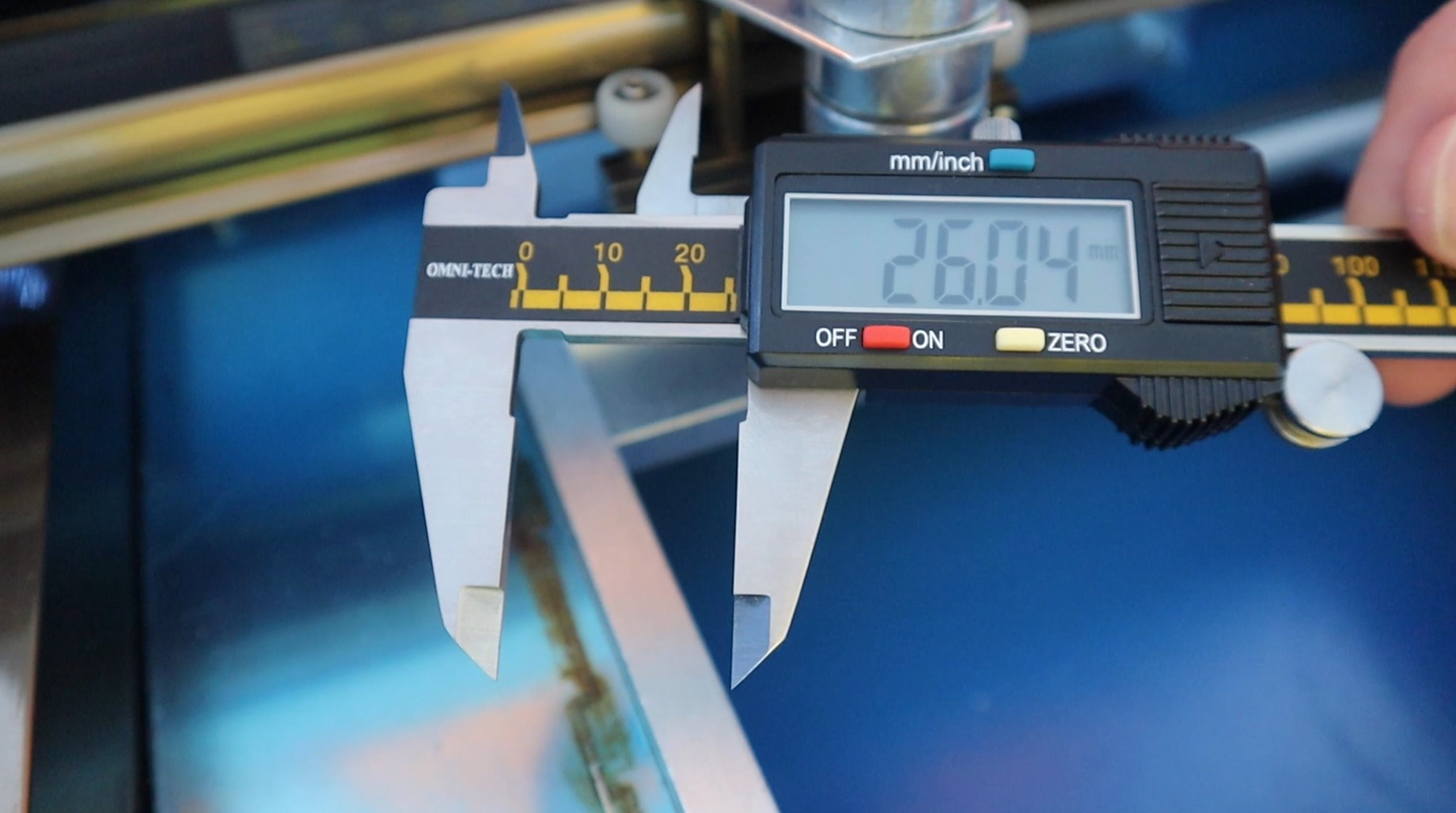 Measuring The Laser Cutter Head