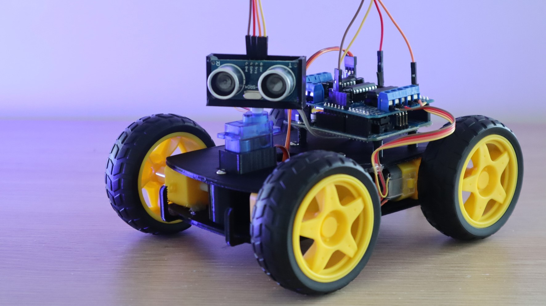 Obstacle Avoiding Robot Car Using An Arduino Uno
