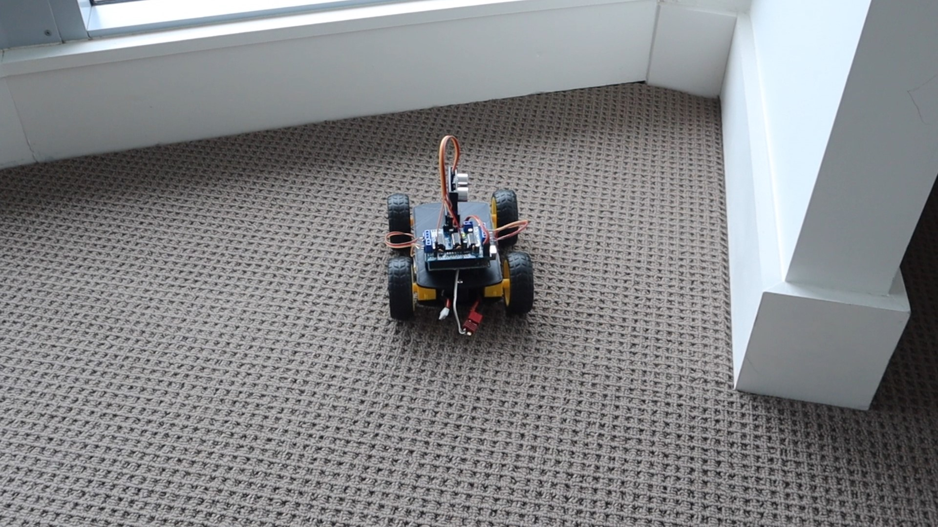 Test The Obstacle Avoiding Robot Car