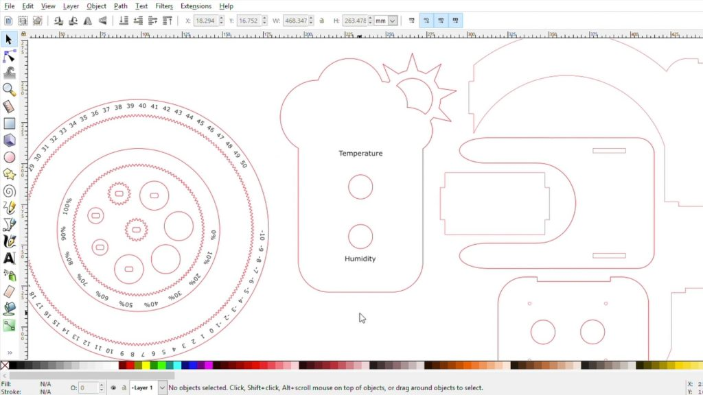 Designed The Weather Station Components In Inkscape