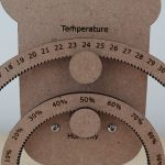 Temperature-And-Humdity-Shown-On-Two-Gears