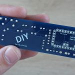 Trim-the-pins-on-the-back-of-the-PCB