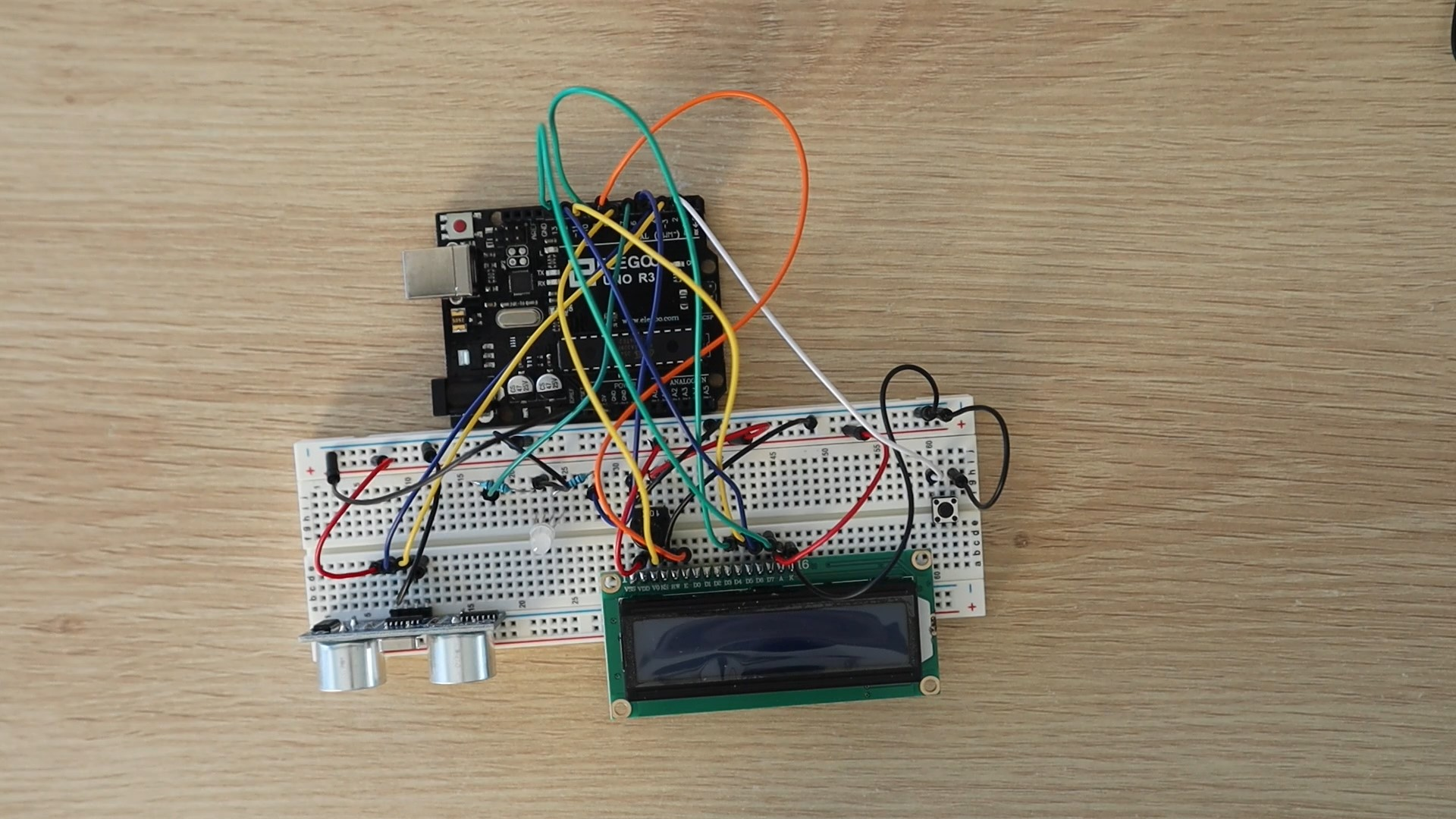 Connect All IO To Arduino