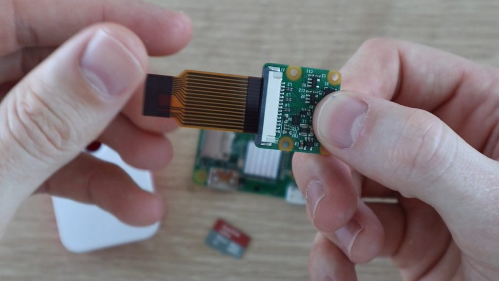 Secure The Ribbon Cable Connector