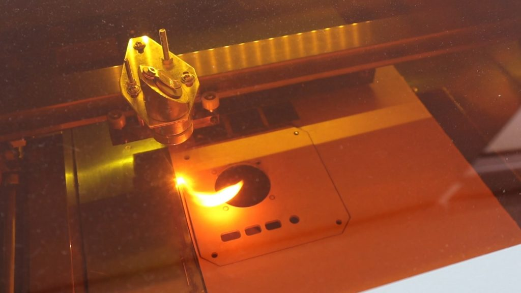 Laser Cutting The Side Profiles