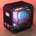 Raspberry Pi 4 Desktop Case Lights