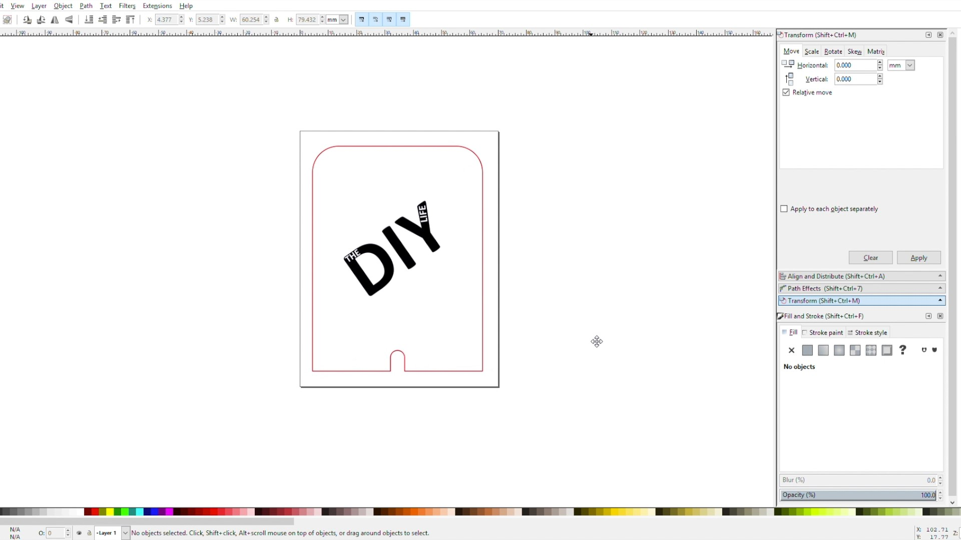 Sign Templates Designed In Inkscape