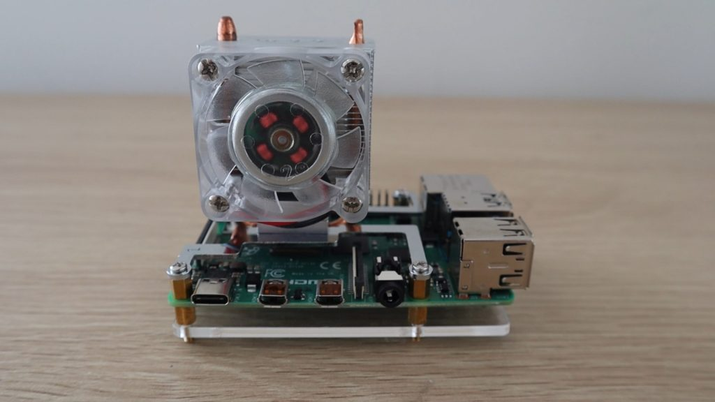 Raspberry Pi Cooling Ice Tower