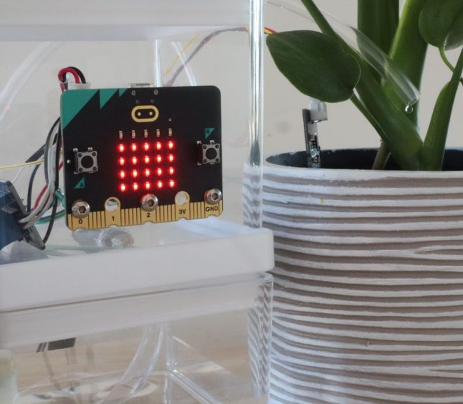 Micro:bit Automatic Plant Watering System