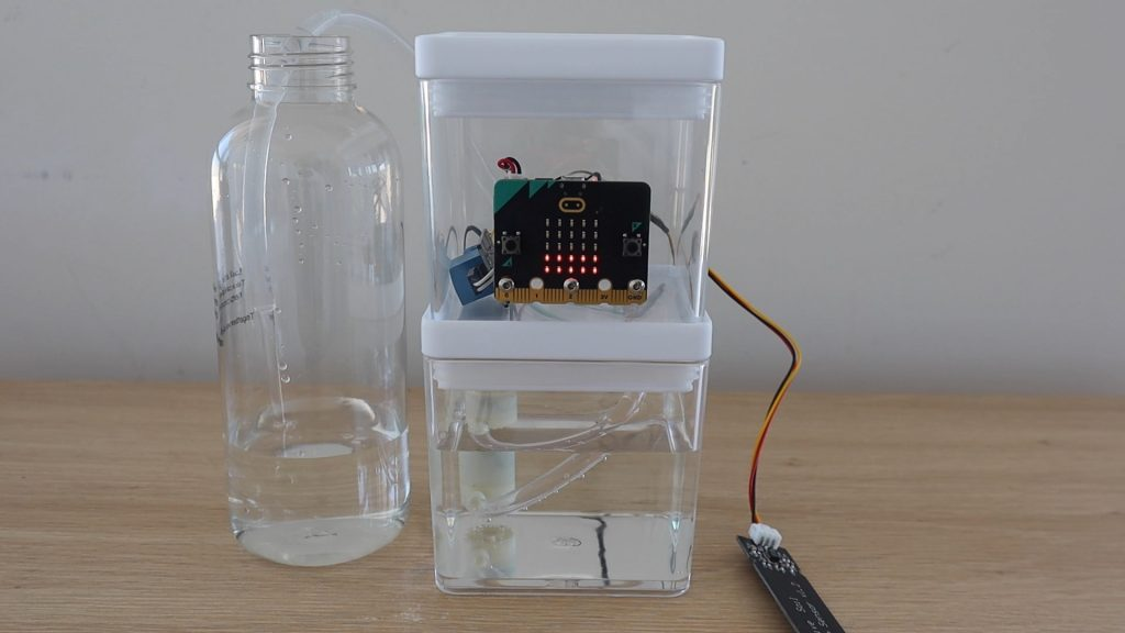 Test Micro:bit Setup With No Soil