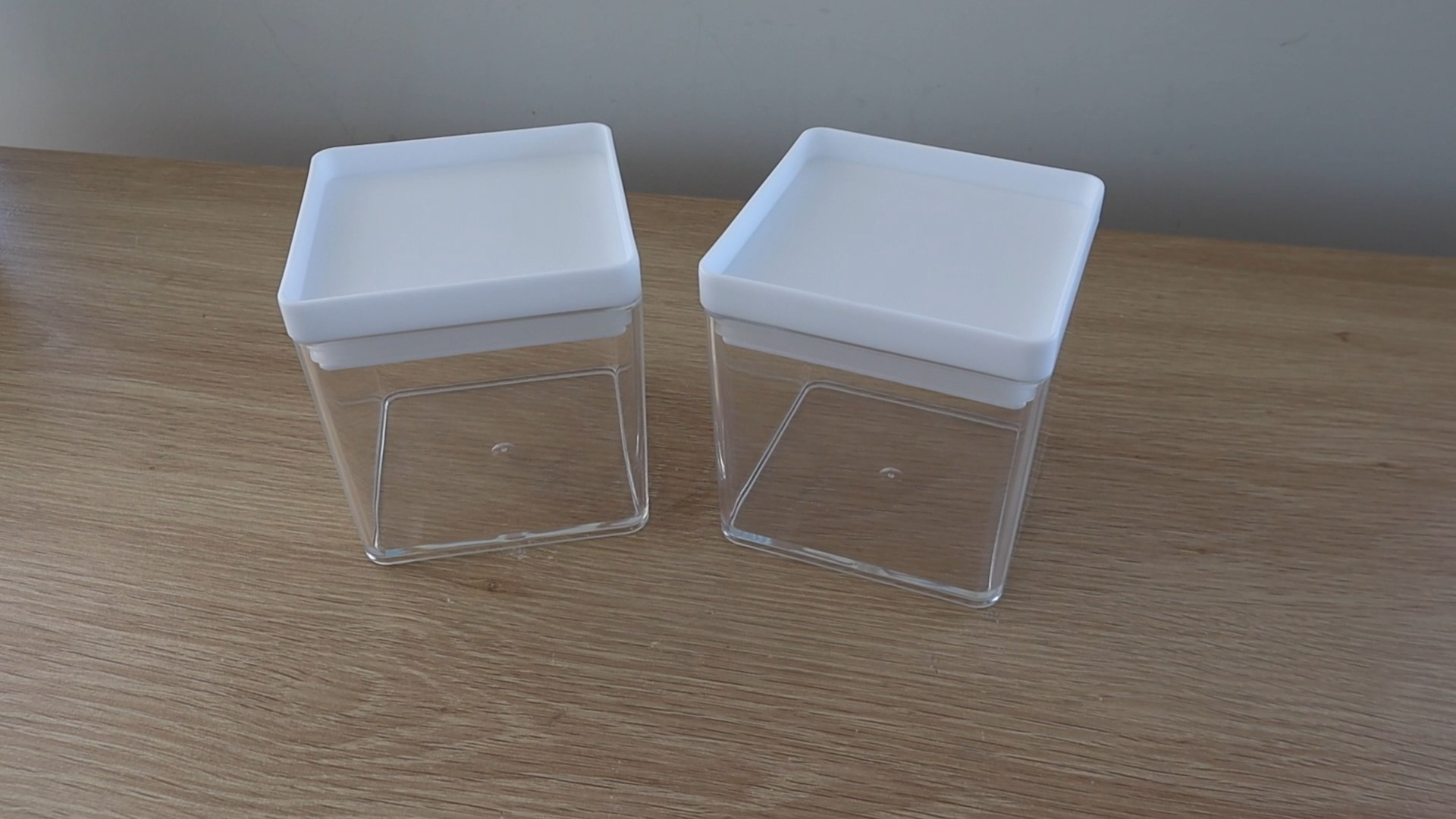 Two Food Containers For Food And Storage