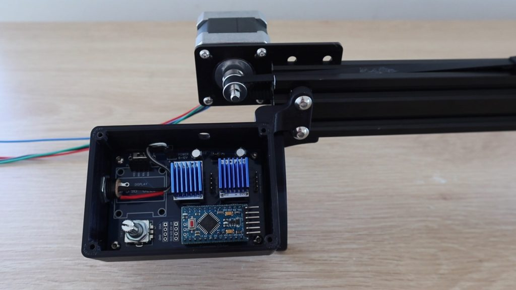 Add Power Cable And Mount To Slider