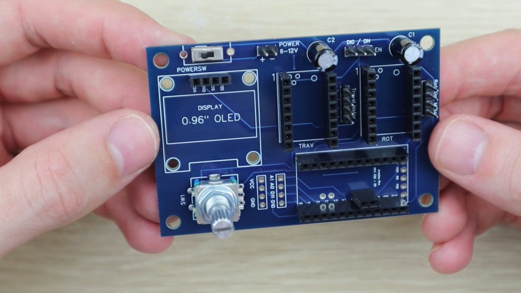 All Components Soldered Onto PCBs