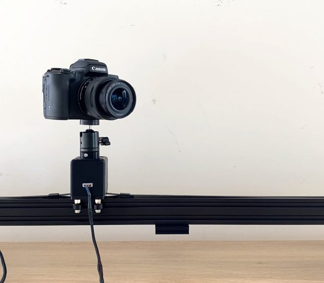 DIY Motorised Camera Slider With Object Tracking