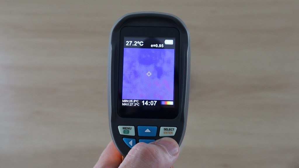 Looking At Raspberry Pi Thermal Image