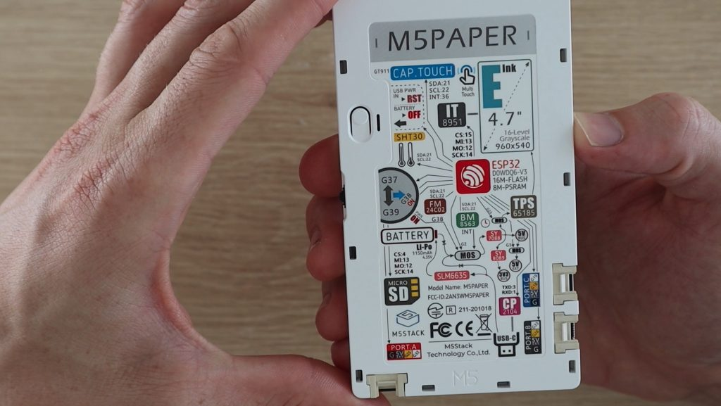 M5 Paper Features