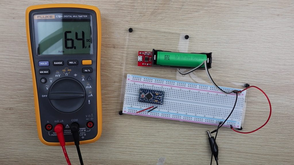 Power Consumption Without Regulator