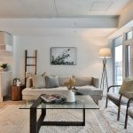 Rely on rugs to break up space into distinct zones