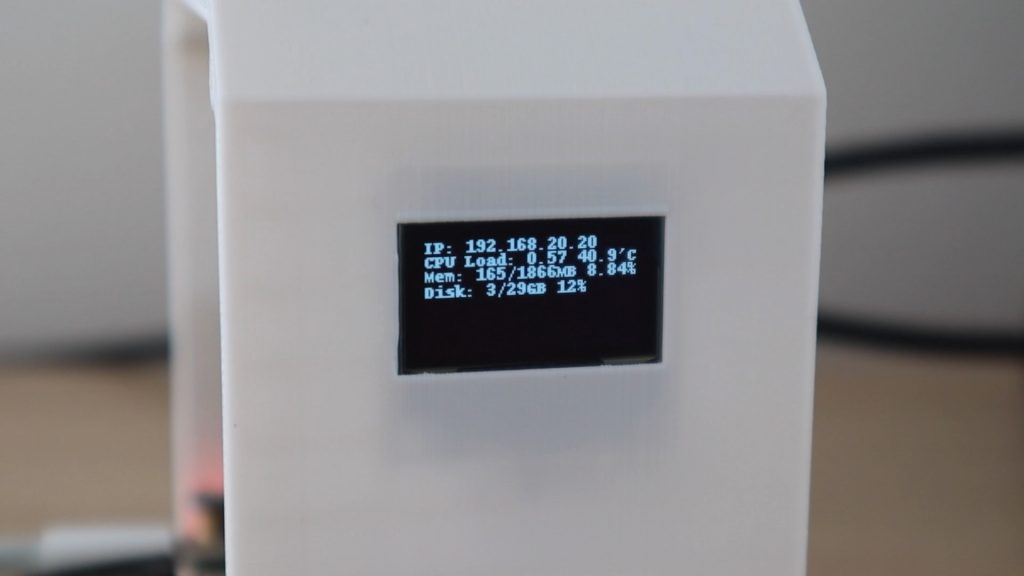 OLED Stats Display Squashed Into Top Half