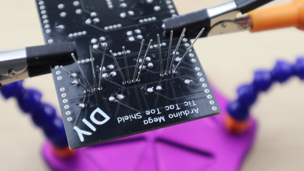 Soldering RGB LEDs Into Place