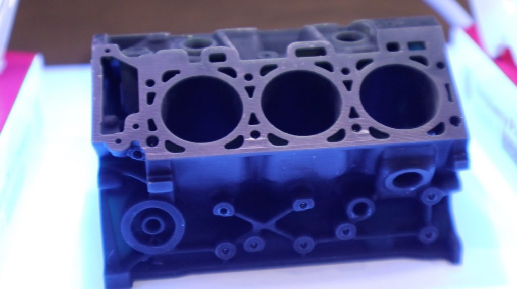 Ford Engine Block UV Curing