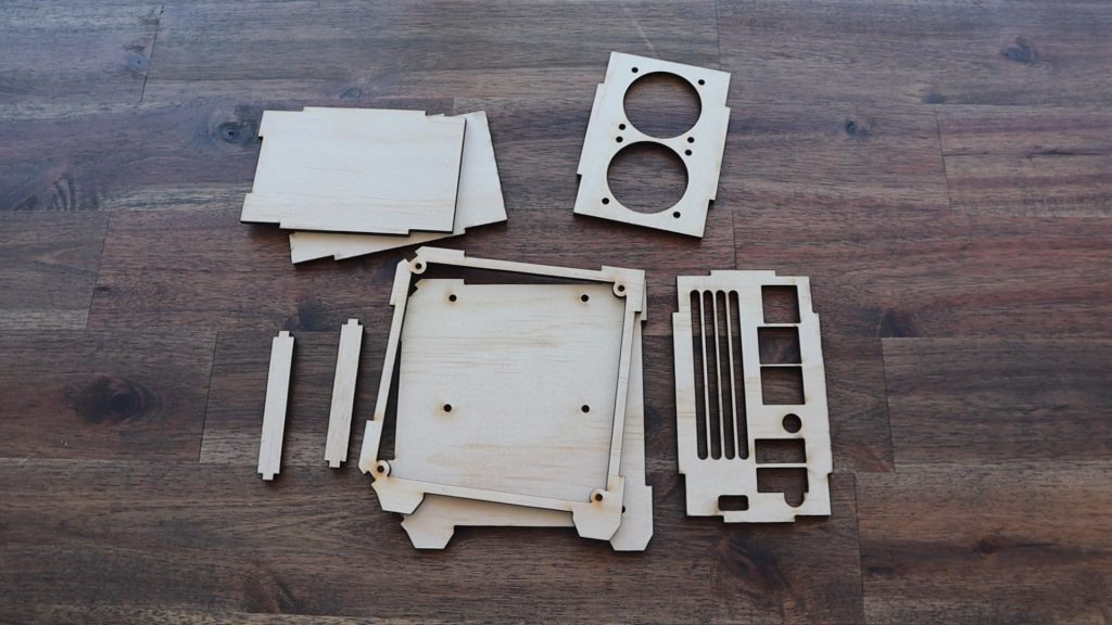 All Components Have Been Cut