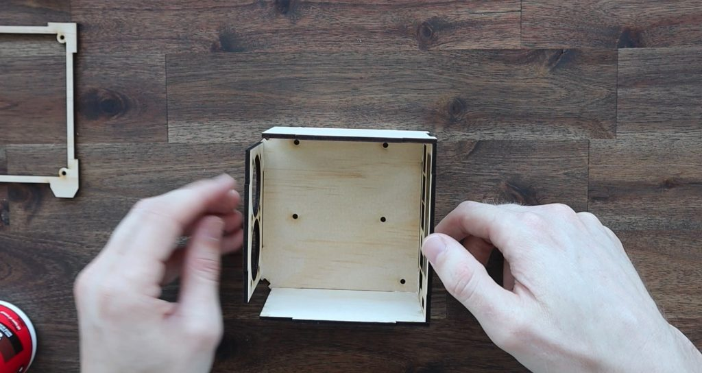 Gluing The Pi Case Together
