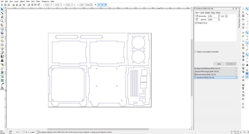 Inkscape Case Design