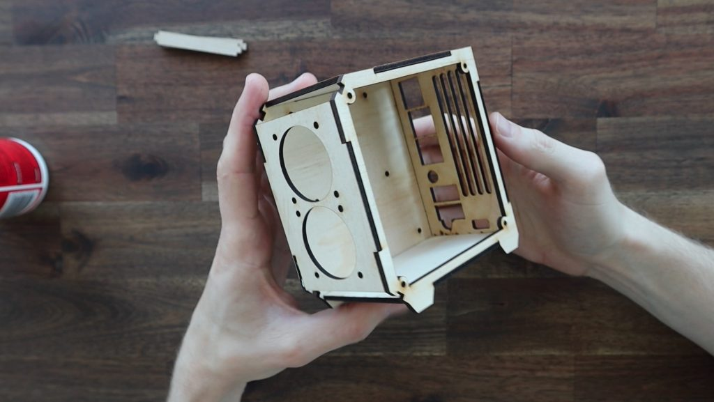 Plywood Pi Case Complete