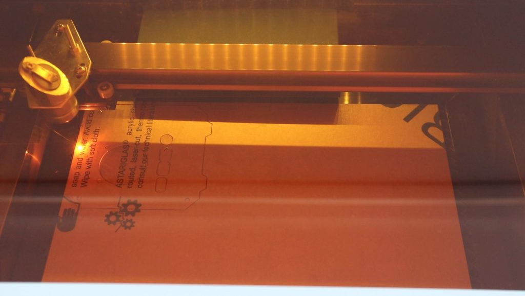 Laser Cutting The Side Panels