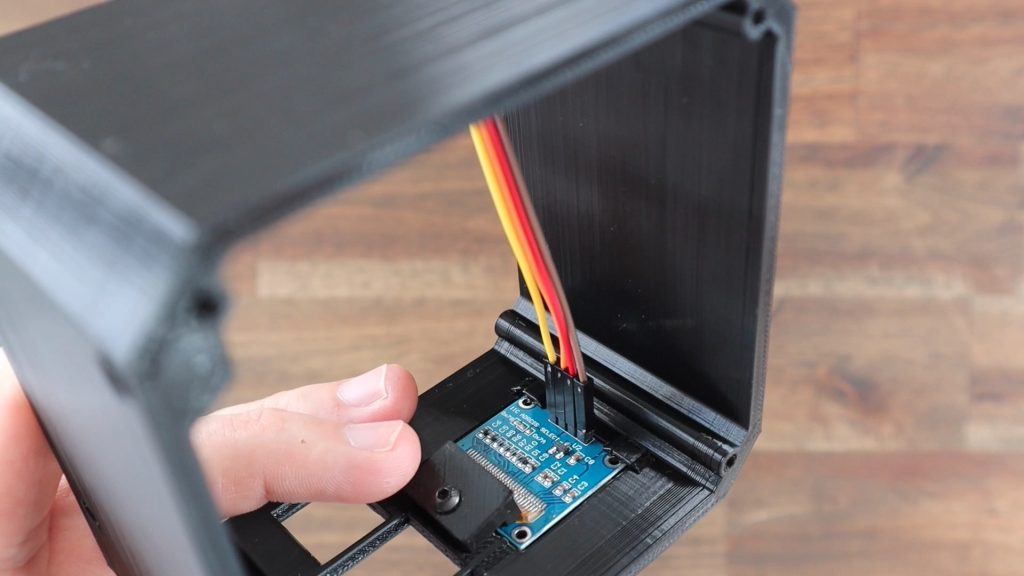 Ribbon Cable Connected To Display